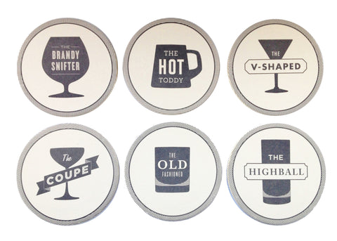 Happy Hour Coasters by Izola