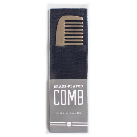 Fine and Dandy Brass Comb design by Izola