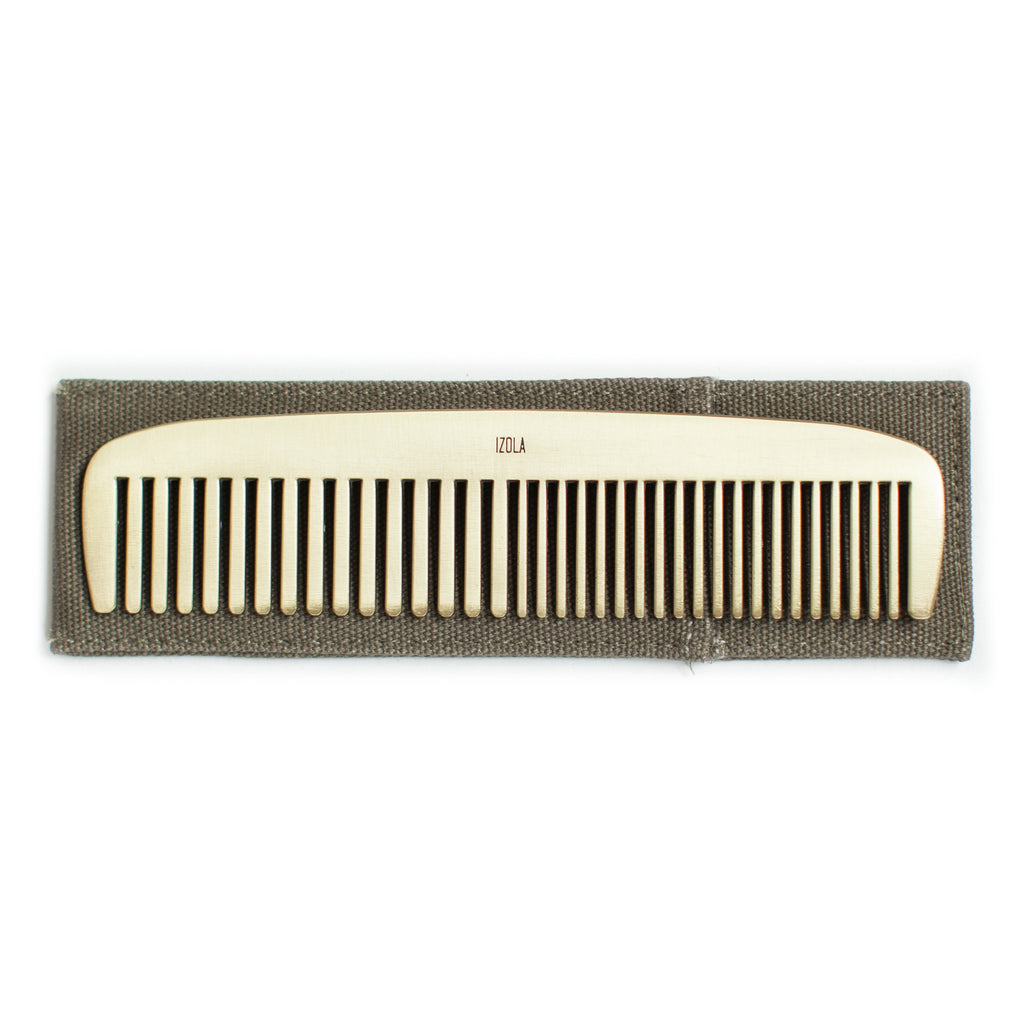 Get It Together Brass Comb design by Izola