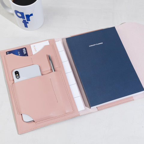 Medium Minimalist Folio Organizer by Poketo