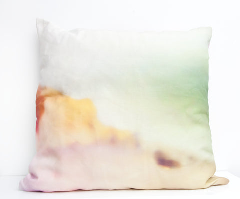 Desert Sun Throw Pillow by elise flashman
