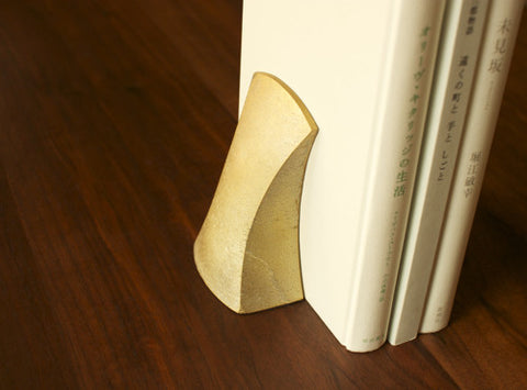 Fundo Brass Bookend design by Futagami