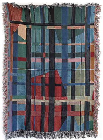 Koos Woven Throw Blankets by elise flashman