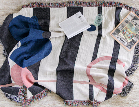 Francis Throw Blankets by elise flashman