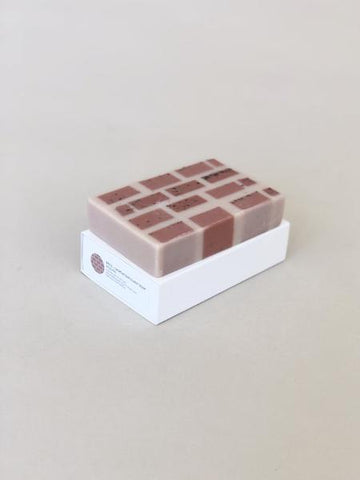 Brick & Mortar Exfoliant Soap in Wild Fig design by Fazeek