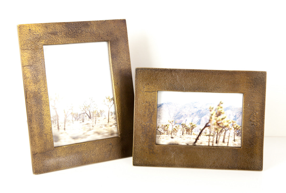 Molten Brass Frames – BURKE DECOR