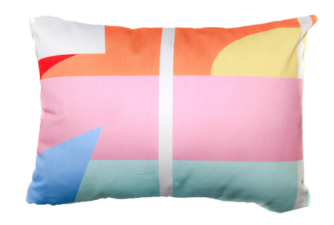 Miami Throw Pillow designed by elise flashman