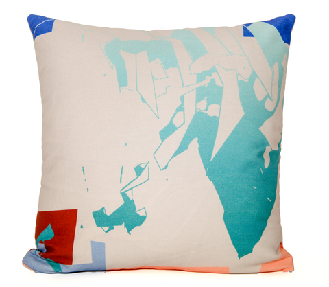 Beach Futures Throw Pillow