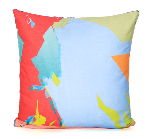 Outdoor Beach Futures Throw Pillow