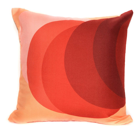 Outdoor Phases Throw Pillow by elise flashman