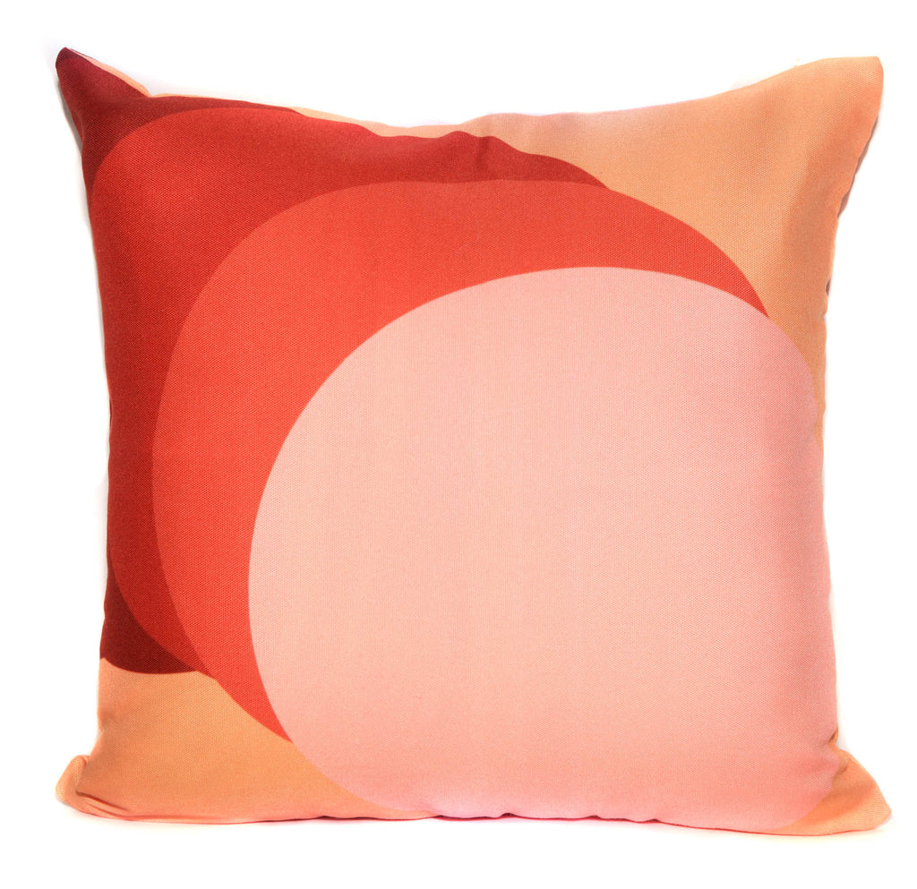 Phases Throw Pillow by elise flashman