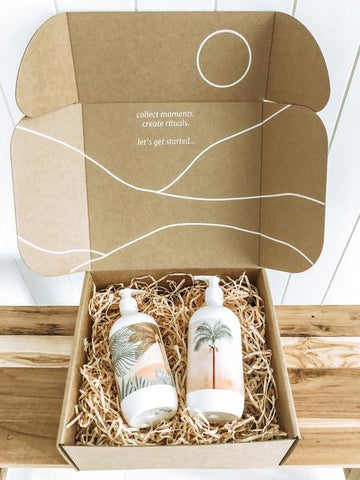 The Landscape Wash + The Palm Lotion Kit
