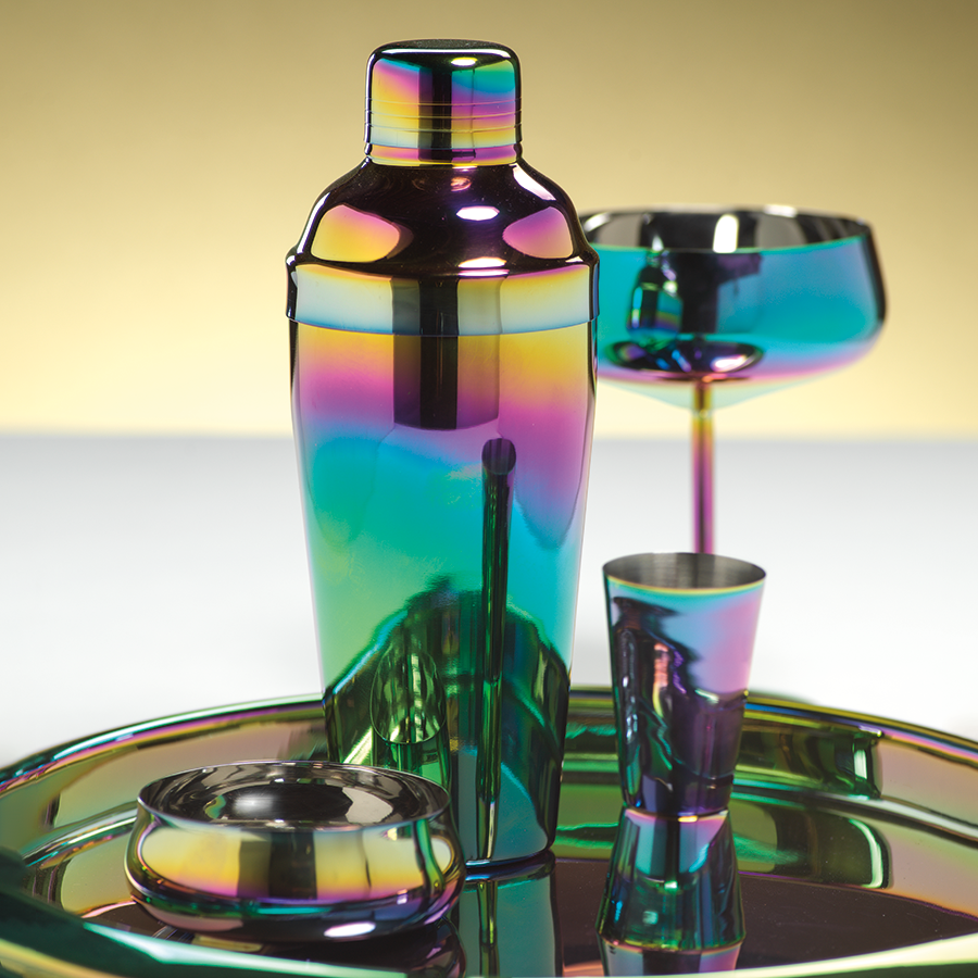 Stainless Steel Rainbow Cocktail Shaker