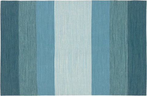 India Collection Hand-Woven  Blue Variety Area Rug design by Chandra rugs