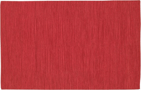 India Collection Hand-Woven Red Area Rug design by Chandra rugs