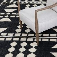 Argus Block Pattern Rug by BD Studio