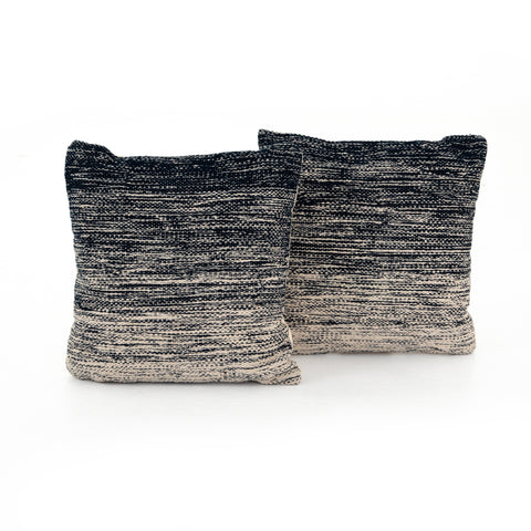 Midnight Ombre Pillow Set of 2 in Various Sizes by BD Studio
