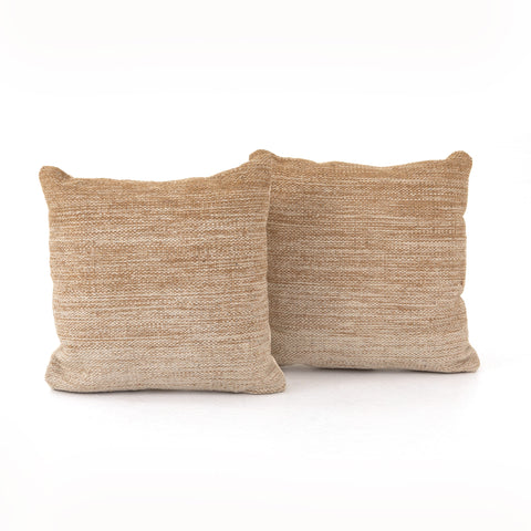 Flaxen Ombre Pillow Set of 2 in Various Sizes by BD Studio