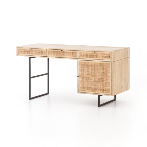 Carmel Desk in Natural Mango by BD Studio