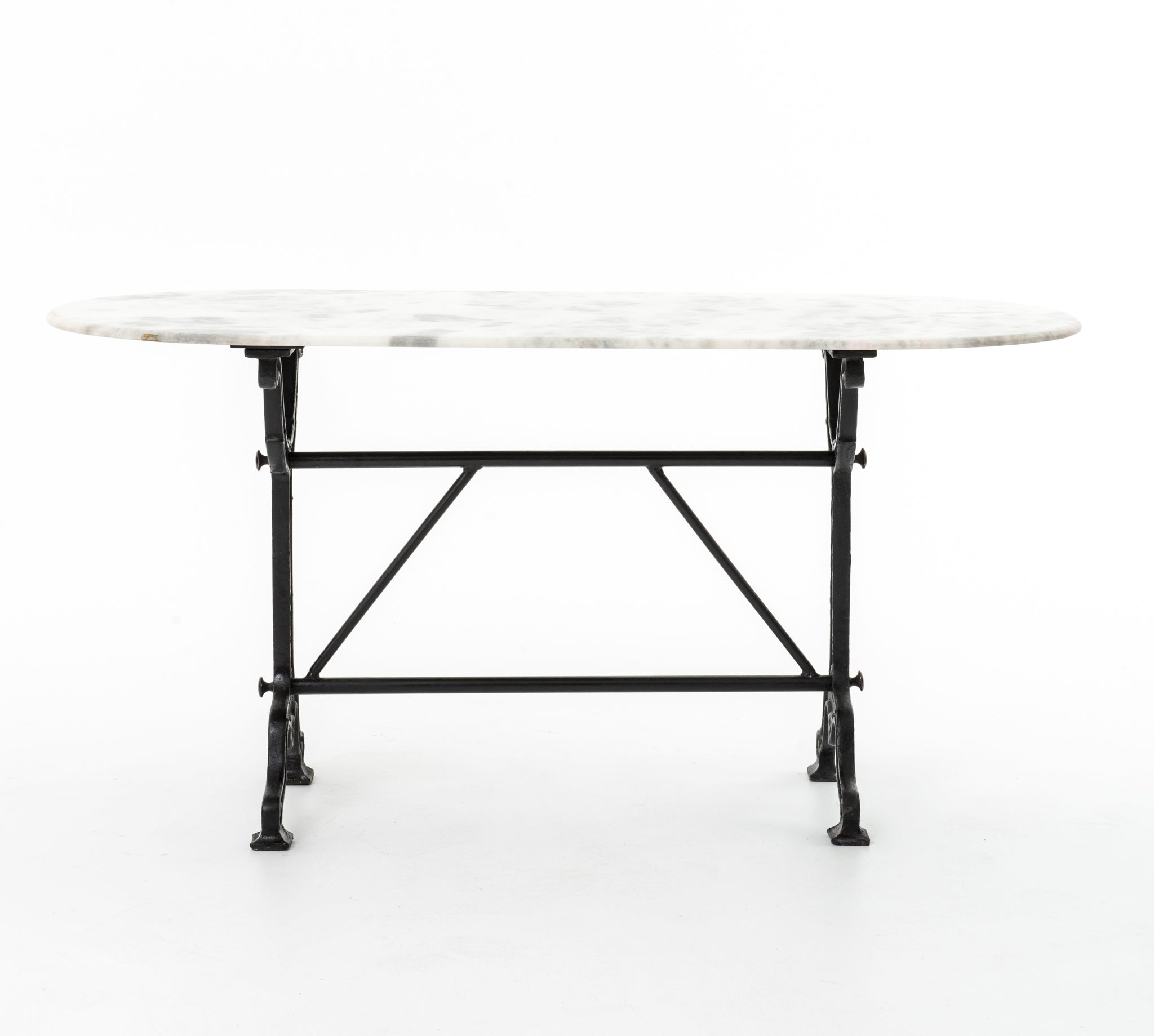 Ava Writing Table in Black