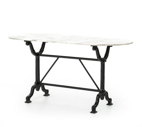 Ava Writing Table in Black by BD Studio