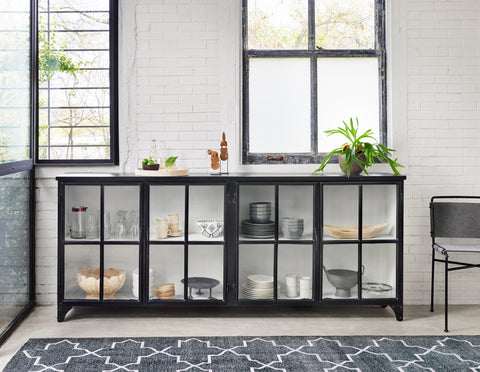 Camila Sideboard In Black