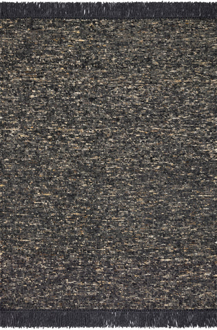 Irvine Rug in Charcoal by ED Ellen DeGeneres Crafted by Loloi
