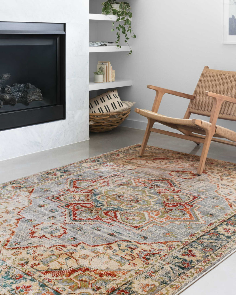 Isadora Rug in Oatmeal by Loloi II