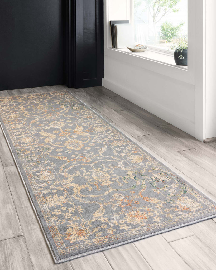 Isadora Rug in Silver by Loloi II