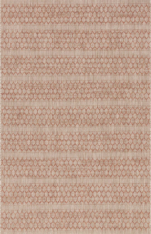 Isle Rug in Beige & Rust by Loloi