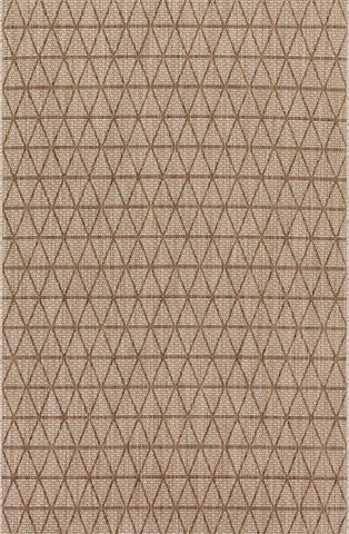 Isle Rug in Beige & Mocha by Loloi