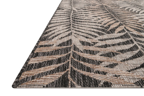 Isle Rug in Natural & Black by Loloi