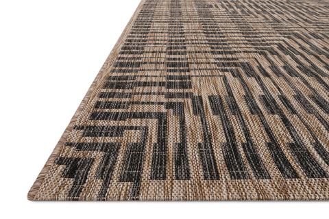 Isle Rug in Brown & Black by Loloi