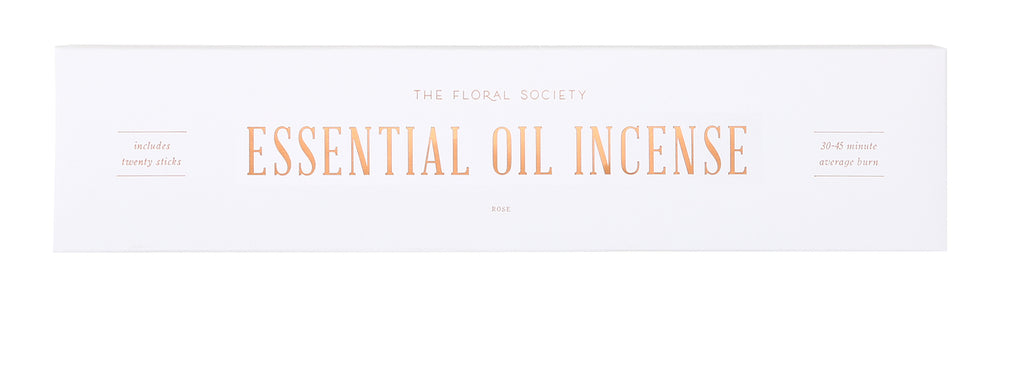 Essential Oil Incense in Various Scents by The Floral Society