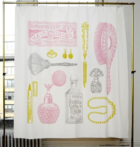 Powder Room Shower Curtain Design By Izola ...