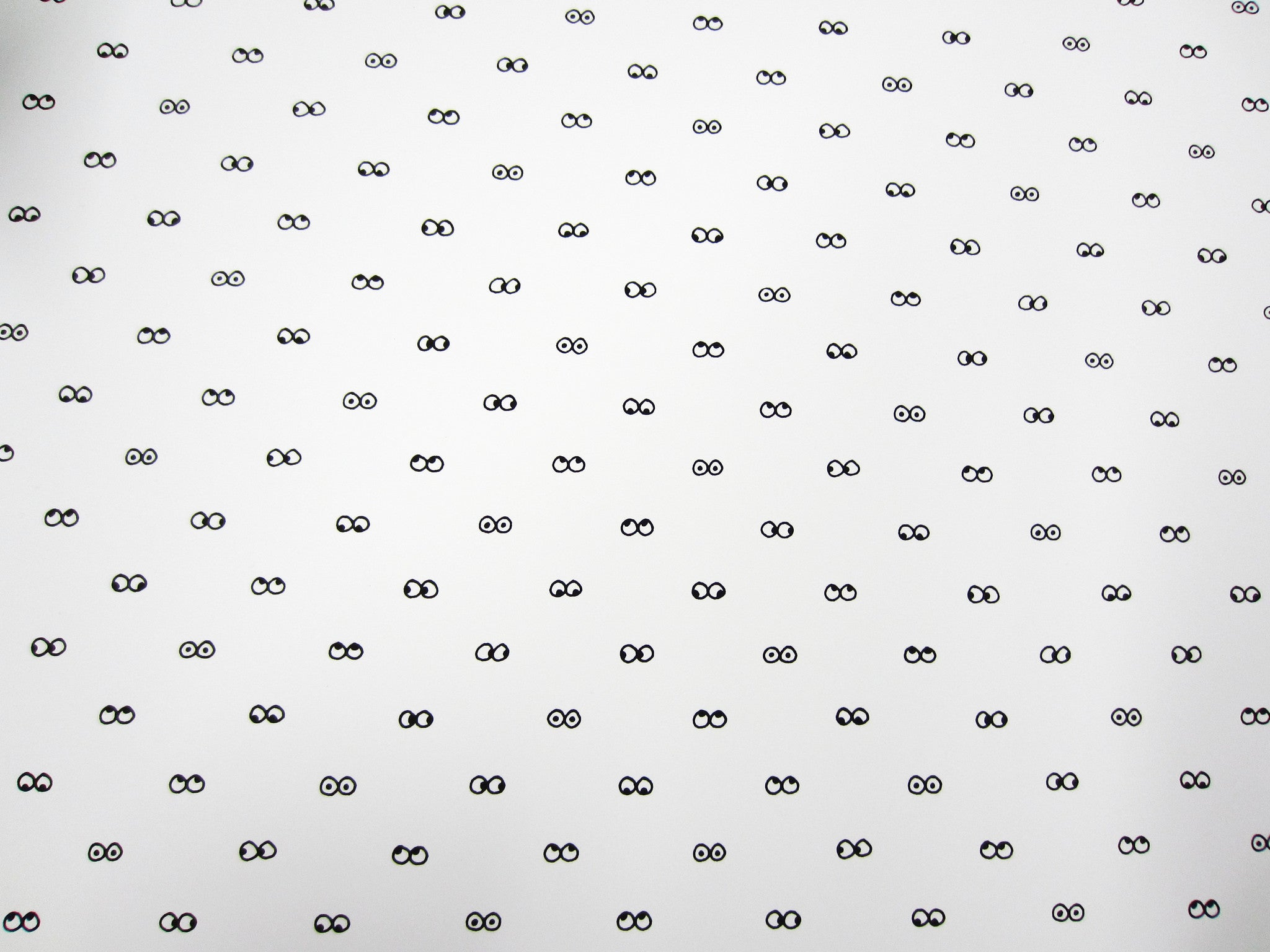 I See You Wallpaper in White design by Cavern Home – BURKE DECOR