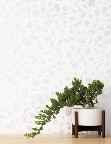 Ibo Wallpaper in Diamonds and Pearls on Cream design by Juju