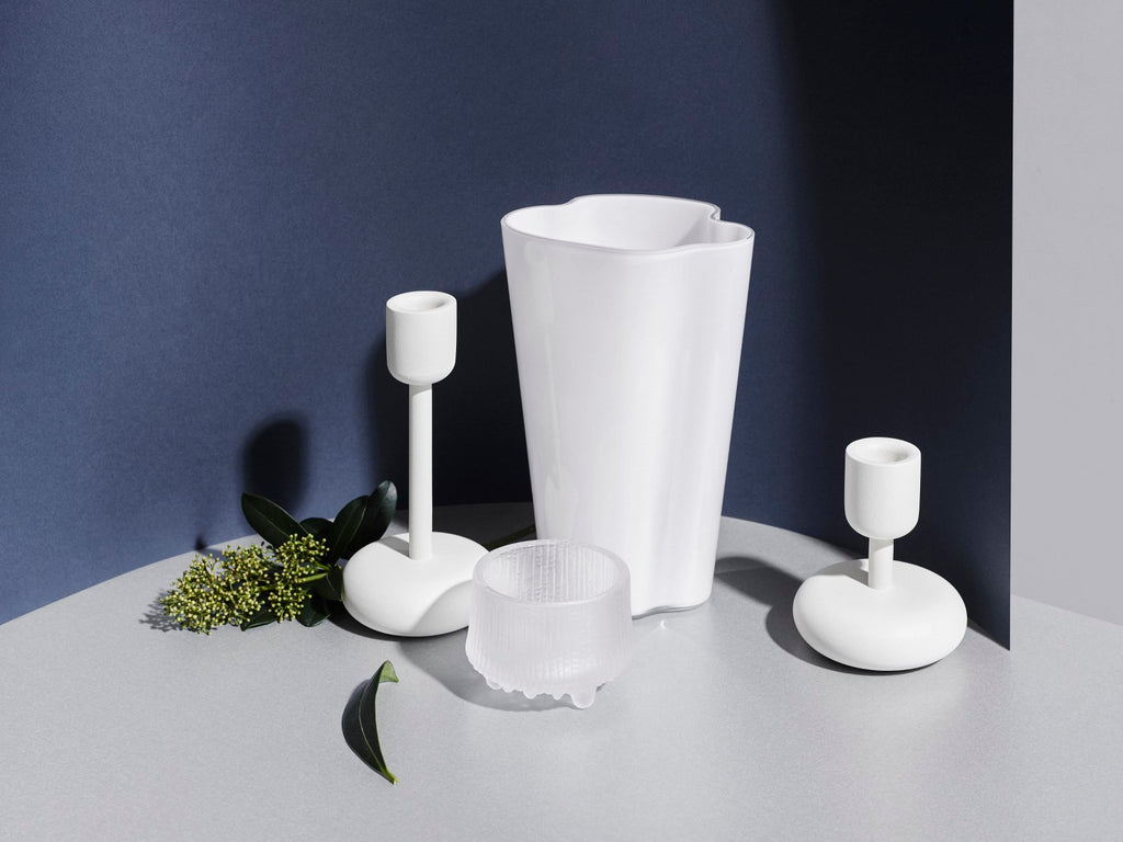 Nappula Candleholder in Various Sizes & Colors design by Matti Klenell for Iittala