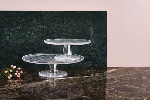 Kastehelmi Cake Stand in Various Sizes design by Oiva Toikka for Iittala