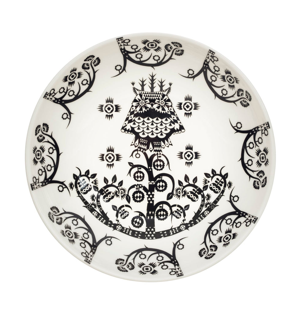 Taika Plate in Various Sizes & Colors design by Klaus Haapaniemi for Iittala
