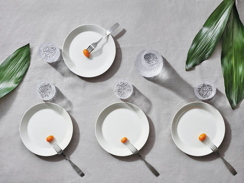 Teema Plate in Various Sizes & Colors design by Kaj Franck for Iittala