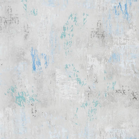 Impasto Wallpaper in Azure from the Tulipa Stellata Collection by Designers Guild