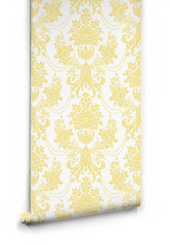 Imperial Wallpaper in Sunny Side Up by Muffin & Mani for Milton & King