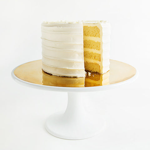 Dauville Gold Glazed Cake Stand design by Canvas