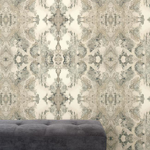 Inner Beauty Wallpaper from the Botanical Dreams Collection by Candice Olson for York Wallcoverings