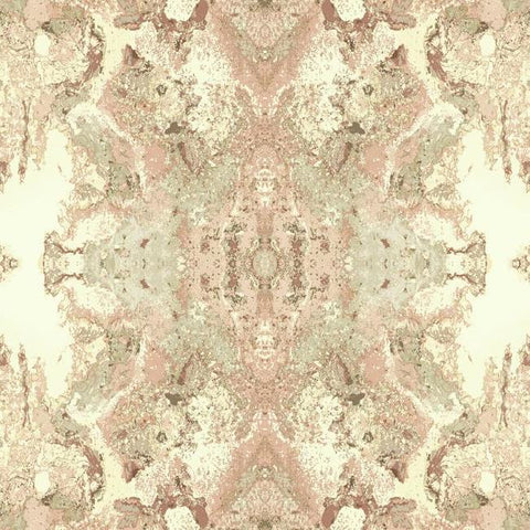 Inner Beauty Wallpaper in Pink from the Botanical Dreams Collection by Candice Olson for York Wallcoverings