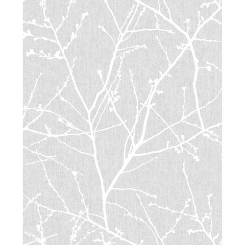 Innocence Wallpaper in Grey from the Innocence Collection by Graham & Brown