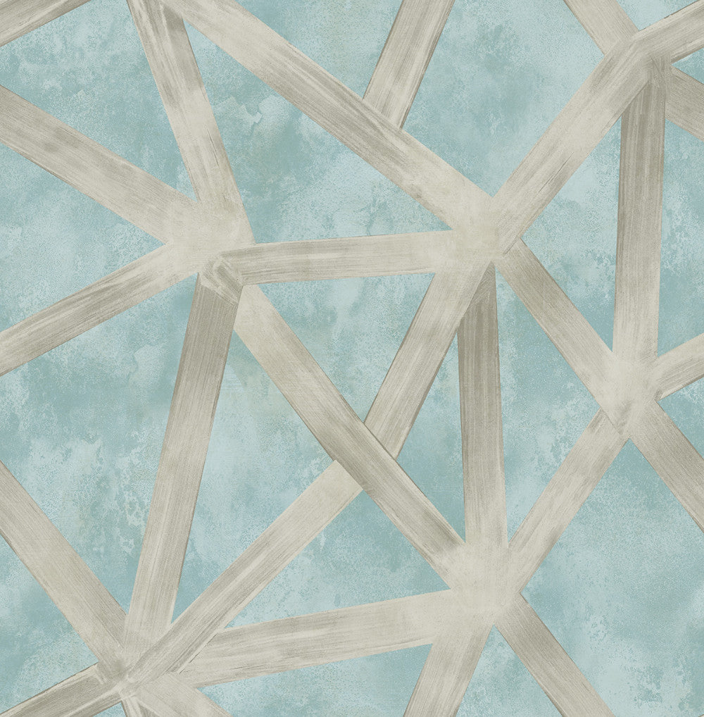 Interstellar Wallpaper in Blue and Grey from the Stark Collection by Mayflower Wallpaper