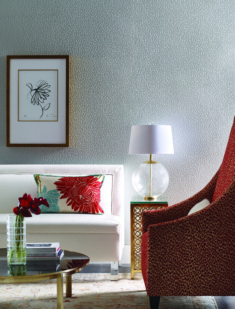 Intrigue Wallpaper from the Breathless Collection by Candice Olson for York Wallcoverings