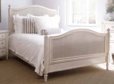 Isabella Bed in Antique White design by Redford House